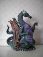 Handmade Dragon by me by Mazzera