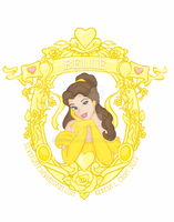 Disney Heroine: Belle by KeresaLea