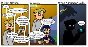 When A Plumber Calls... by MFM-comics