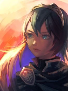 Re: Princess Lucina by bellhenge