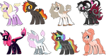 Pony Breedables (OPEN) by AnnieHorrorAdopts