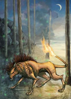 Red XIII by FleetingEmber