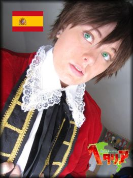 WoAS Spain cosplay by CrimzonEchidna