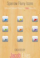 Sparrow Flurry Icons by Boarder24