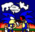 Sonic Vs. Sonic.exe (Mini Story) by ZaneIsEpicZX