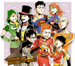 Halloween party on Team year one by Sii-SEN