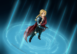 Edward Elric by KirasElixir