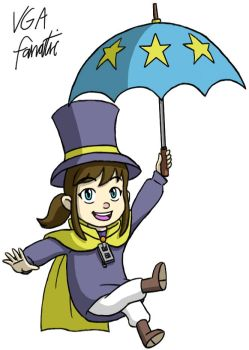 Hat Kid by VGAfanatic
