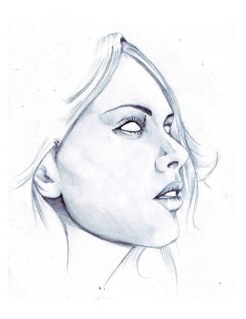 Woman Sketch by tankthefrank