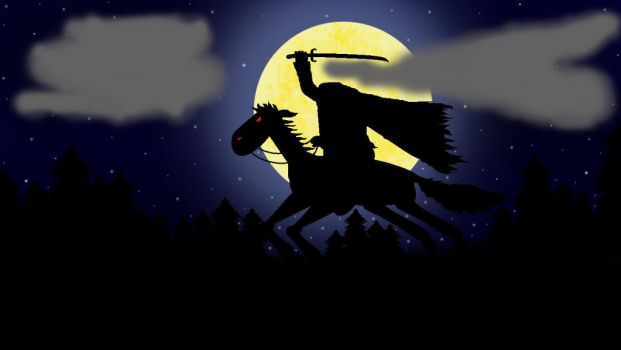 Sleepy Hollow ~ The Headless Horseman by CutiePieLittleMe