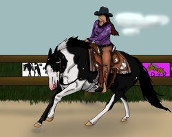 Player at Hickory Ridge's 2012 Western Classic W.P by angry-horse-for-life