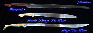 3 Elven Blades, by Brendan Olszowy - Fable Blades by Fableblades