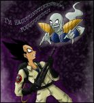 Ghost Nappa by kyetxian