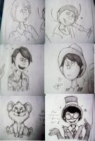 Once-ler sketchdump by Manic-Bunny