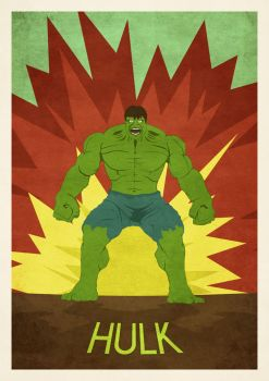 Hulk Poster by zpecter