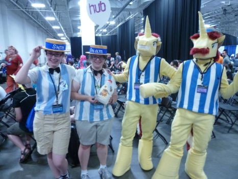 BronyCon 2012 - Shim/Sham and Flim/Flam by Cuteboom
