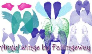 Angel wings by failingsway