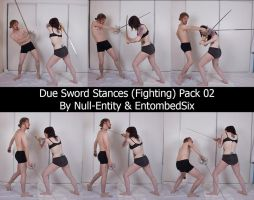 Duo Sword Stances (Fighting) Pack 02 by Null-Entity