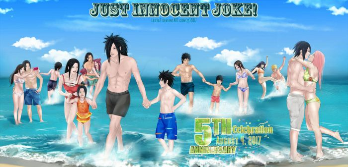Just Innocent Joke! 5th Anniversary by Lesya7