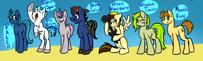 The Bronies by catlover1672