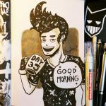 Day 35 - GOOD MORNING by N1NJAKEES