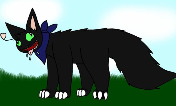 Smuph the derpy shadow stalker! by velociprey149