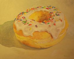 My Donut Painting by Frances-xx