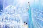 Elsa - Queen of Ice and Snow by zhenyue