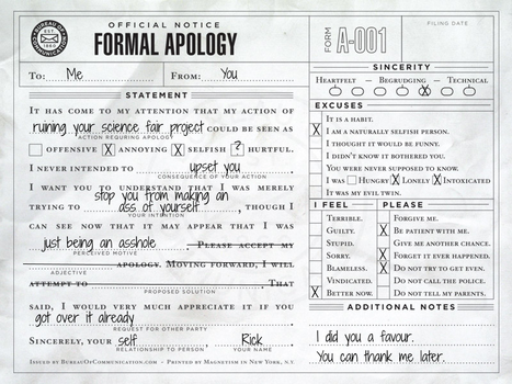 Ricks Apology Letters By Rickdiculously On DeviantArt