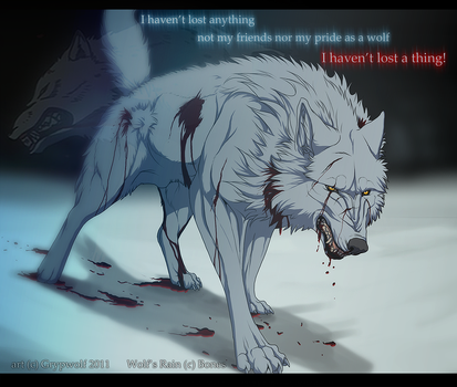 Pride of a wolf by Grypwolf