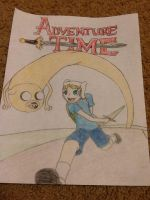 Adventure Time by FrostyChica