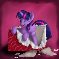 The Gift of Twilight by blueSpaceling