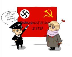 Proletarians and aryans, unite! by SM-13