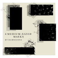 mask brushes by Sarah-Dipity