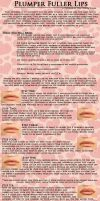 Fuller Lips Make-up Tutorial by The-Cosplay-Scion