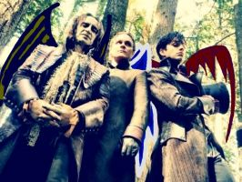 Once upon a winged Rumple, Wale, and Jefferson by TacoDestroyerAvenger