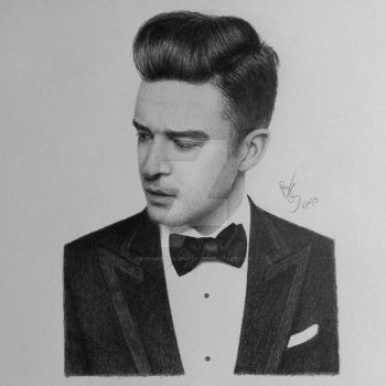 Justin Timberlake by FromPencil2Paper