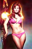 Raquel Welch - retouched photo by Bugstomper86