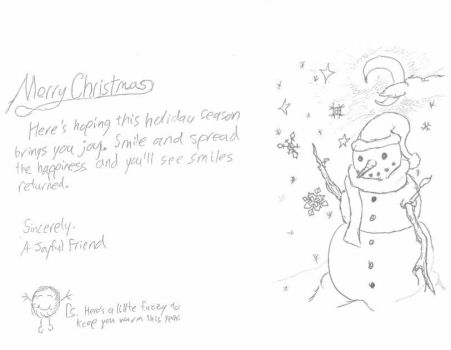 ChristmasCardProject 2015 - My Card by SHADOWoftheSPARTAN