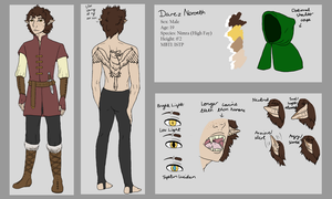 Darez Noroeth reference sheet by AMEcco