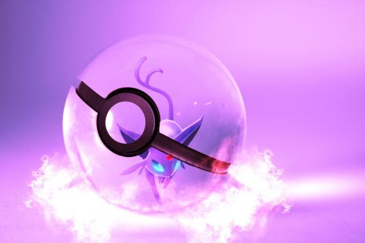 The Pokeball of Espeon by wazzy88