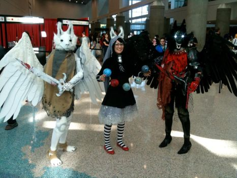 Homestuck Cosplay all together! by SavedChicken