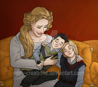 Tender Moments by Mary-Creations