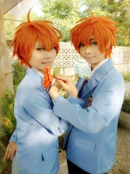Hitachiin brothers by l3rokenwing