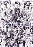 BK issue 2 back cover pencil by gammaknight