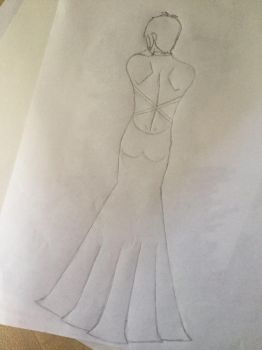 Wip Lance in a dress  by MarkSepticPie42