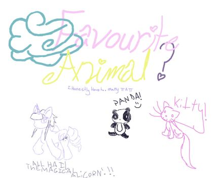 My favorite animals- 30 day challenge day 2 by TheIrisWish