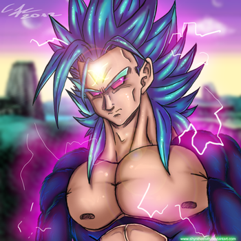 Shyn Super Saiyan X form by ShynTheTruth