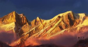 'Across the Mountains' by epson361