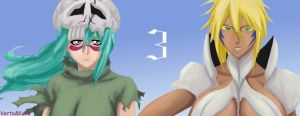 Tia and Nel, Bleach by VertaMoltke
